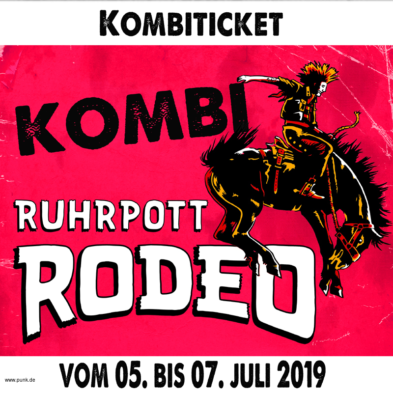 Kombi-Ticket Ruhrpott Rodeo 2019